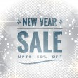 Stock Vector: New year sale