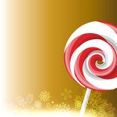 Candy lízátko — Stock vektor