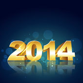 2014 new year design — Stock Vector