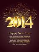 New year celebration — Stock Vector