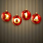 Szczęśliwego nowego roku projekt — Wektor stockowy
