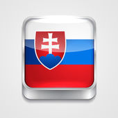 Flag of slovakia — Stock Vector