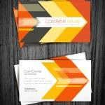 Arrow business card — Stock Vector #43411387