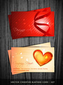 Valentine day card — Stock Vector