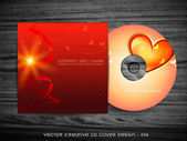 Love style cd design — Stock Vector