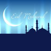 Eid Mubarak design — Stockvektor