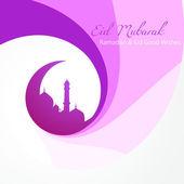 Eid background — Stock Vector