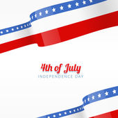 Vector american independence day background — Stock Vector