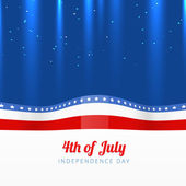 Vector 4th of july — Stock Vector