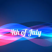 4th of july design — Stock Vector