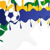 Futbol oyunu — Stok Vektör