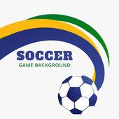 Football game design — Stock Vector
