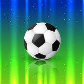 Beautiful football design — Stok Vektör