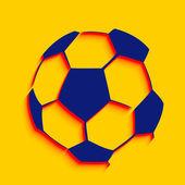 Creative football design — Stok Vektör