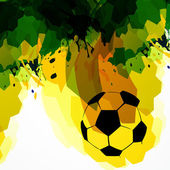 Football illustration — Vector de stock