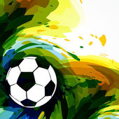 Soccer football design — Vecteur
