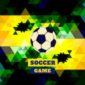 Soccer sports — Vector de stock