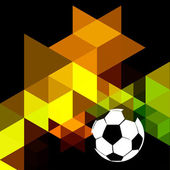 Creative soccer design — Vecteur