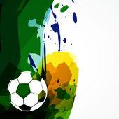 Vektor fotboll design — Stockvektor