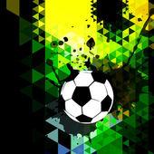 Design criativo futebol — Vetor de Stock