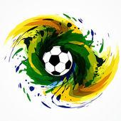 Futbol oyun tasarımı — Stok Vektör