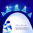 Christmas background — Stock Vector #7458240