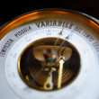 Photo of a old barometer — Stock Photo