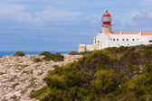 The end of the world, cap at Algarve, Portugal — Stock Photo