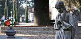 Cemetery Statue — Stock Photo
