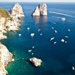 Faraglioni di Capri — Stock Photo