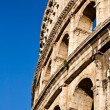 Stock Photo: Colosseum with blue sky