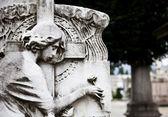 Cemetery architecture - Europe — Stock Photo