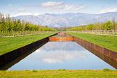 Acqua piscina — Foto Stock