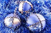 Handmade Christmas Balls — Stock Photo