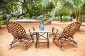 Zahradní nábytek — Stock fotografie