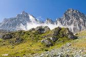 山脉路径 — 图库照片