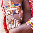 Masai traditional costume — Stock Photo #14230169