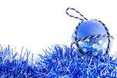 Handmade Christmas Ball — Stock Photo