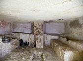 Etruscan tomb — Stock Photo