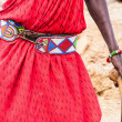 Masai traditional costume — Stock Photo #16242743