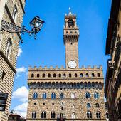 Florença, palazzo vecchio — Foto Stock