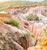 Marafa Canyon - Kenya — Stock Photo