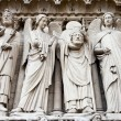 Notre Dame Cathedral - Paris — Stock Photo #18124853