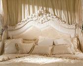 Romantic bedroom — Stock Photo
