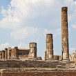 Pompeii - archaeological site - Stock Photo