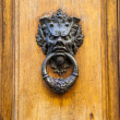 Stock Photo: Devil Head Door Knocker