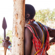 Masai traditional costume — Stock Photo #21241329