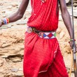Masai traditional costume — Stock Photo #22019551