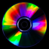 Psychedelic CD — Stock Photo