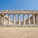Paestum temple - Italy — Stock Photo #24902195